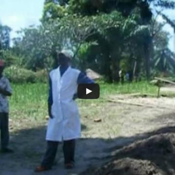 Travaux de réhabilitation de l'hôpital de Lubefu