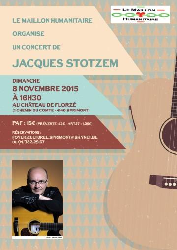 Concert de Jacques Stotzem