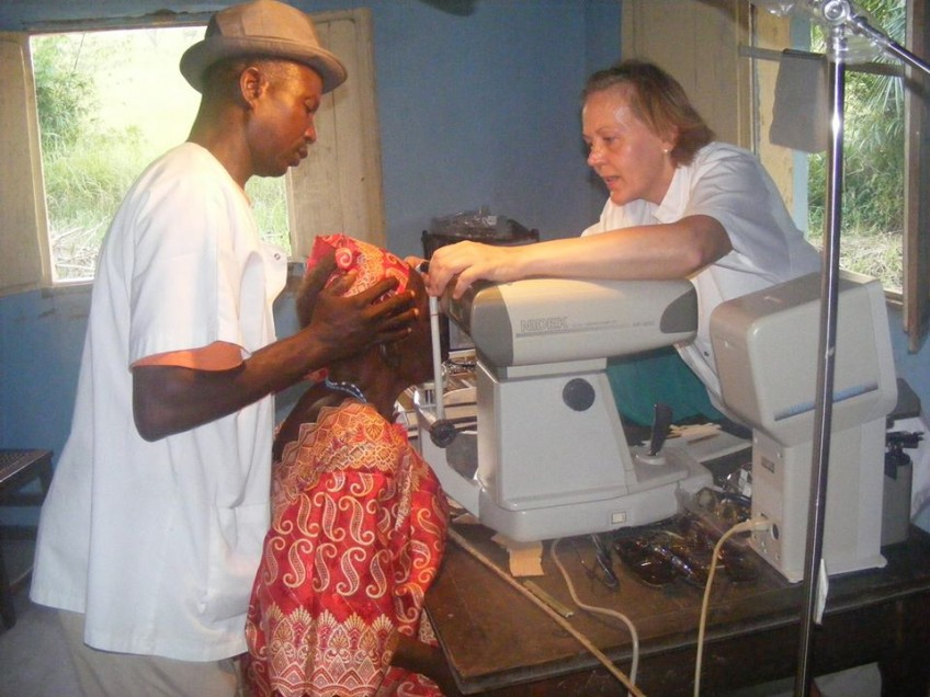 Caravane médicale de chirurgie ophtalmologique à Lubefu