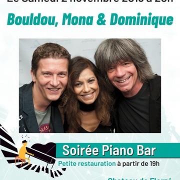 Piano Bar avec Bouldou, Mona & Dominique